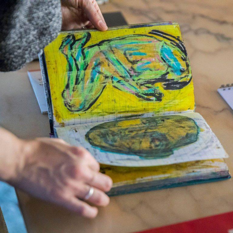 mostra sketchbook artisti 1